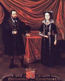Erich I. und Elisabeth von Brandenburg